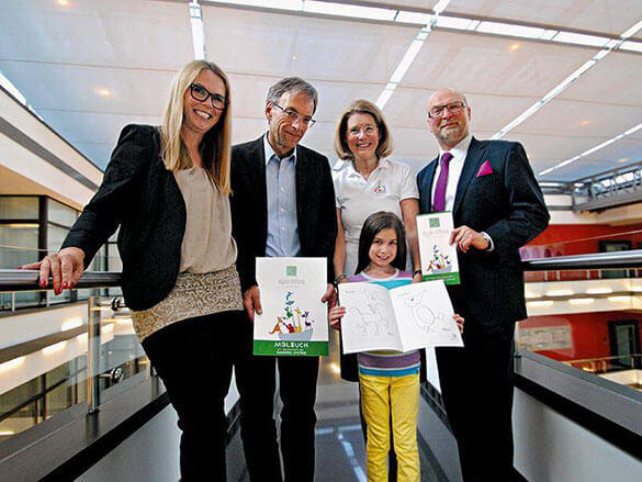 BEENKER & KOLLEGEN und die WURZEL Mediengruppe unterstützen die Olgäle-Stiftung